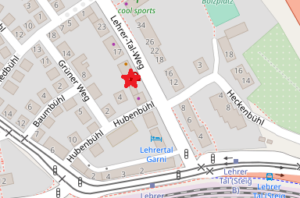 Map Lehrertal